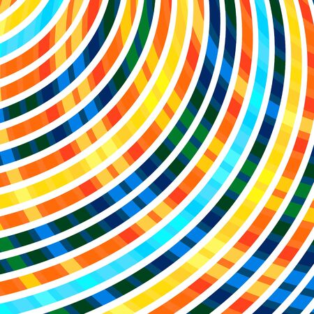 bended: Abstract background with many bended stripes