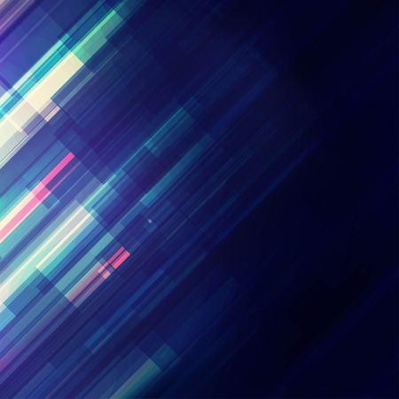 Abstract techno background with transparent lines Illustration