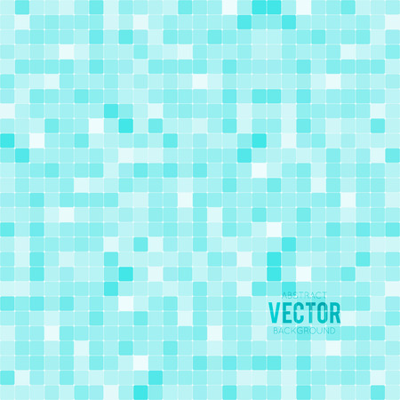 blue  toned: Abstract blue toned background with squares