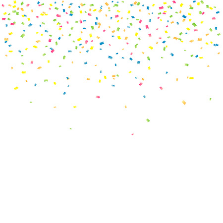 Abstract background with falling confetti Stok Fotoğraf - 36807420