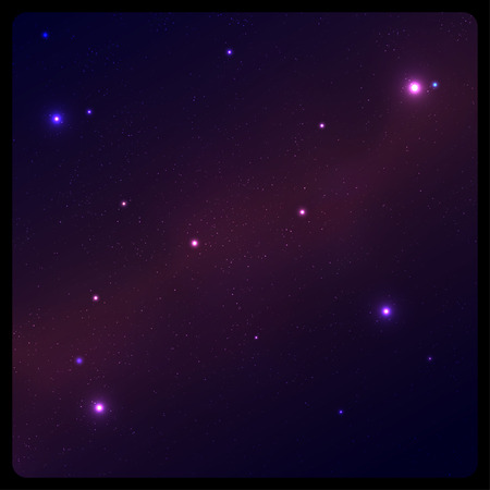 astral: Abstract space background with frame