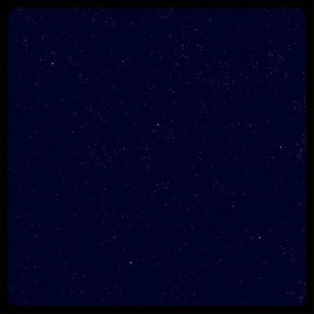 starfield: Abstract dark blue starfield background Illustration