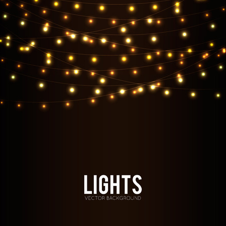 Abstract Background with leuchtende Lichter Standard-Bild - 36807379