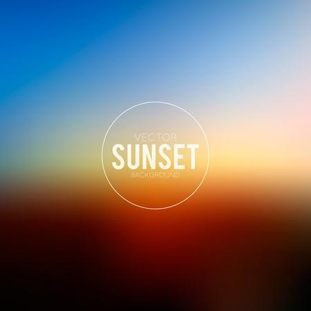 horizonte: Noche de fondo borrosa abstracta con signo