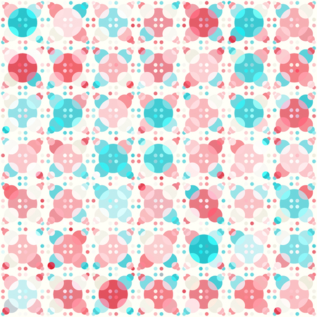 sized: Abstract seamless pattern with many different sized circles