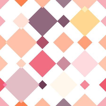 pastel colored: Seamless background with many vertical arranged, pastel colored, different sized rhombus streaks