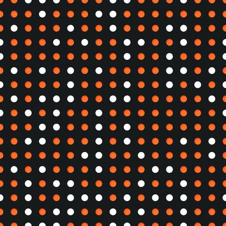 Résumé de fond transparente avec de nombreux cercles blancs et rouges Vecteurs