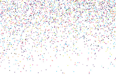 Abstract background with falling confetti Фото со стока - 54448776