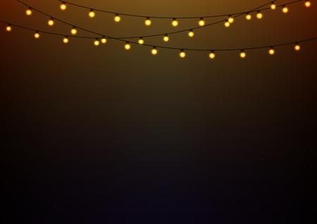 Abstrakcyjna tła z Żarzące światła