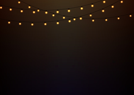 glowing lights: Abstract background with glowing lights