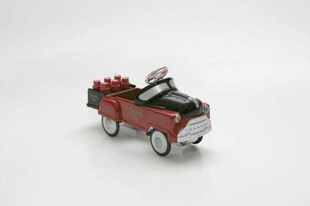 Pedal Car Toy - Gas Truck photo