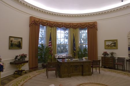 law office: Oval Office Stock Photo