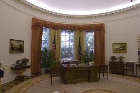 Oval Office Zdjęcie Seryjne