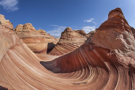 scorch: The Wave, sandstone recreation area in Utah Stock Photo