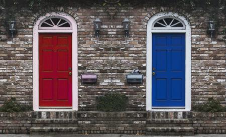 abode: Red Door Blue Door