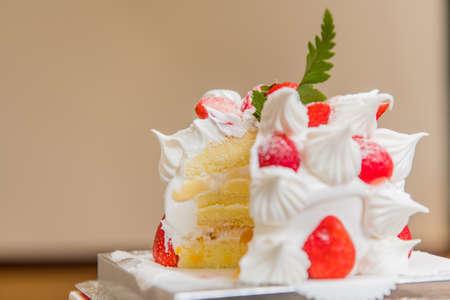 Strawberry Cake 免版税图像