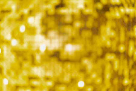 Abstract blur sequin dress colorful bokeh goldren light. Design backdrop. Disco color Zdjęcie Seryjne