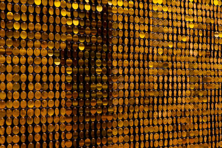 Sequins reflective background. Golden Sequins, Sparkling,