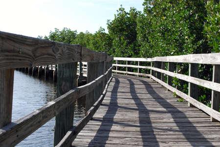 boardwalk what lies around the bend photo