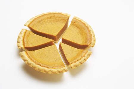 camembert graphique: tarte de camembert, citrouille Banque d'images