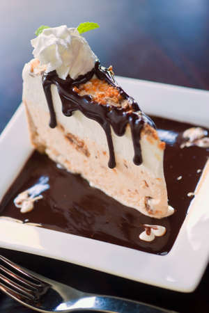 Butterfinger ice cream pie photo