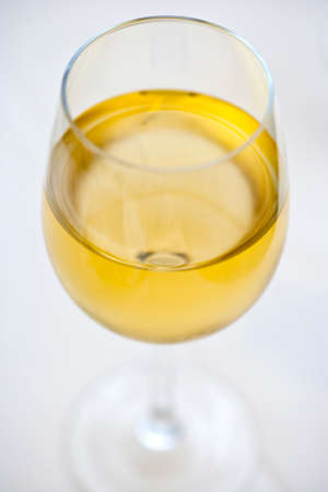 glass of chardonnay wine Stock fotó