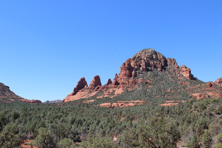 ridgeline: Broken Arrow Trail in Sedona AZ