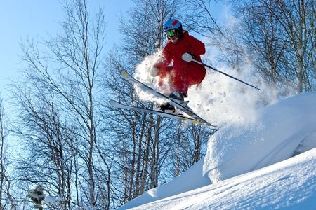 Freeride in Siberia Stock Photo - 6345514