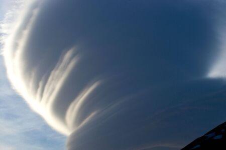 Natural phenomenon in Caucasus Mountains, Elbrus, Adilsu june 2010 photo