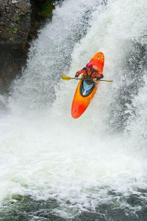 outdoor pursuit: Waterfalls in Norway