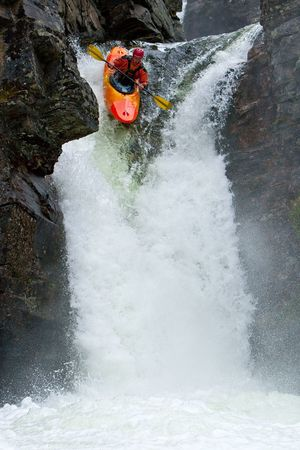 Waterfalls in Norway Stock Photo - 7674007