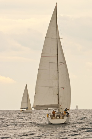 Yacht regatta photo