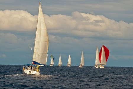 Yacht regatta Stock Photo - 12993329