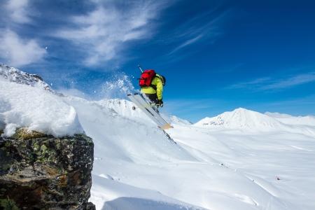 narciarz: Freeride na Kamczatce
