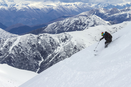 Freeride in Chile photo