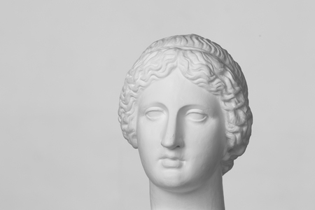 Gypsum head of Venus de Milo photo