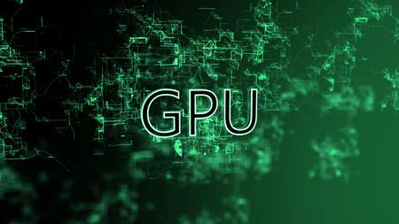 The digital network. Text GPU