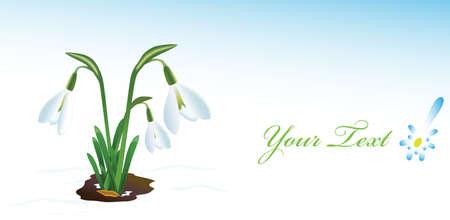 Illustration for spring holidays