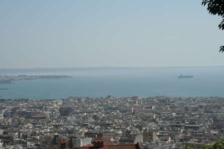 Scenic shot from Thessaloniki, Greece.