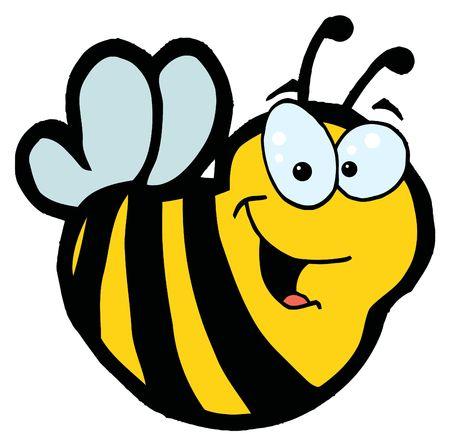 Cartoon Characters Mascot Bee Stock Vector - 6792533