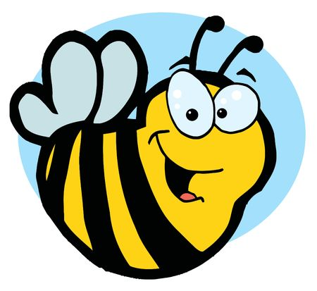 Cartoon Characters Bee