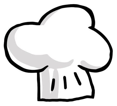 일러스트 - 요리사의 모자
