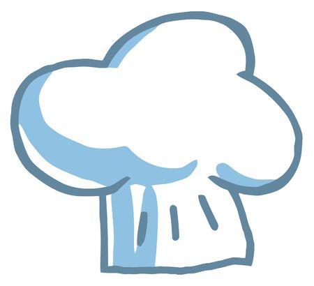 클립 아트 일러스트 - 요리사의 모자 일러스트