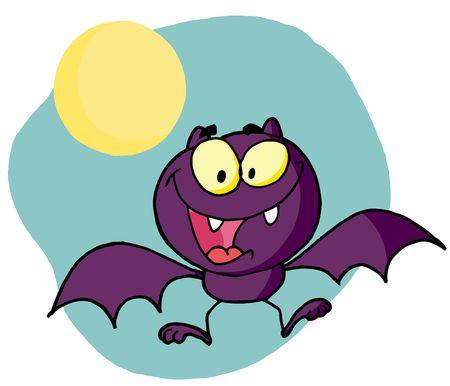 Happy vleermuis
