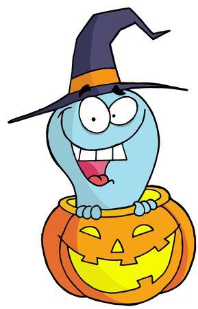 Halloween ghost Vector