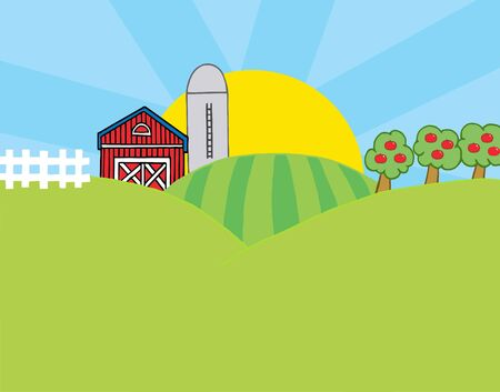 barnyard: Country Farm Scene