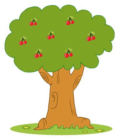 renders:  Lush Cherry Tree