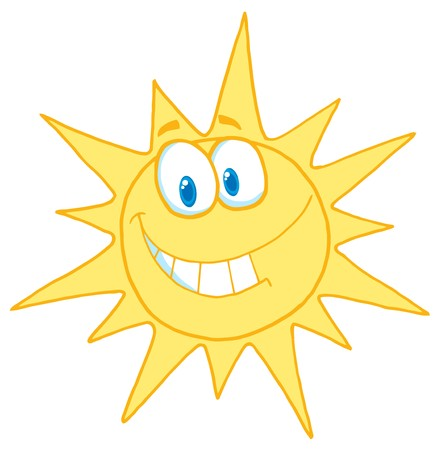 suns: Sunny Face Smiling