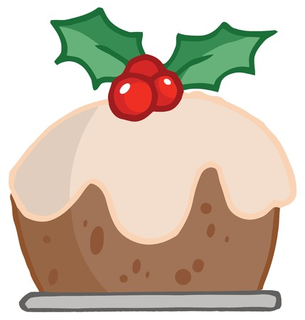 renders: Holly Topped Christmas Pudding