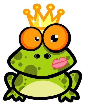Frog Prince Cartoon Character photo
